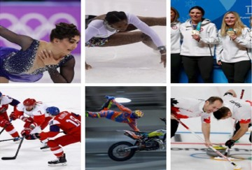 Pics: some players performance well in Winter Olympics 2018