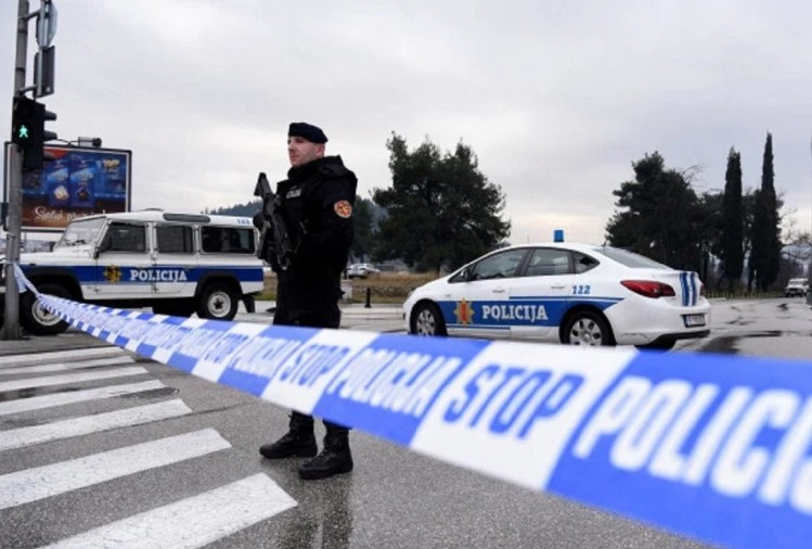 Suicide bomb attack in the US embassy premises of Montenegro