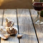 wine garlic