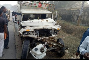 pikup&truck accident, 2 died