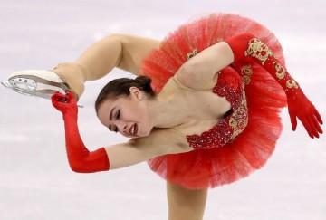 Alina Zagitova won first gold medal for russia in winter olympics