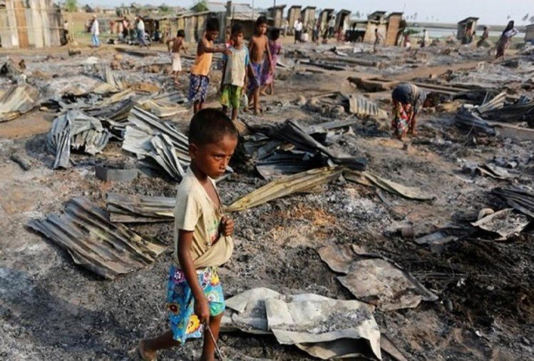 Human Rights: Rohingya's 55 villages completely destroyed, confirmed by satellite pictures