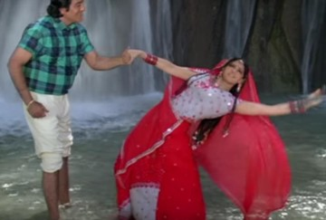 Sridevi romantic song with vinod khanna shooting in Dehradun