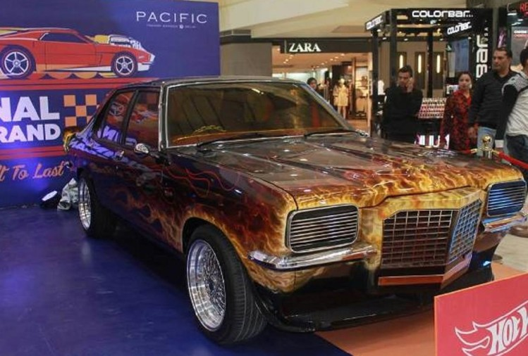 Hot wheels Car Displayed at Pacific Mall