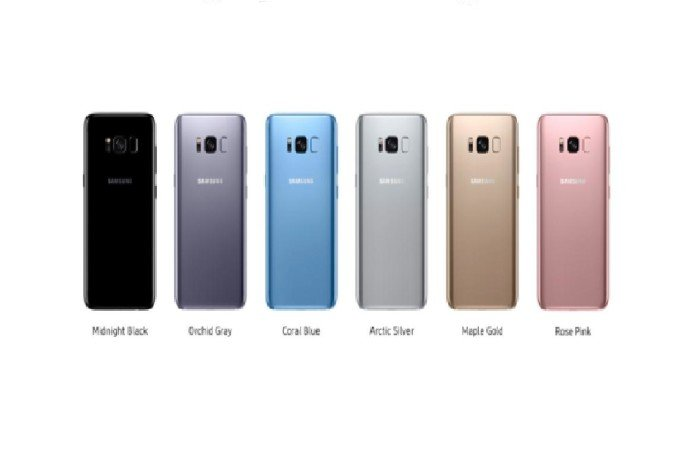 Samsung Galaxy S8 and the new Galaxy S9