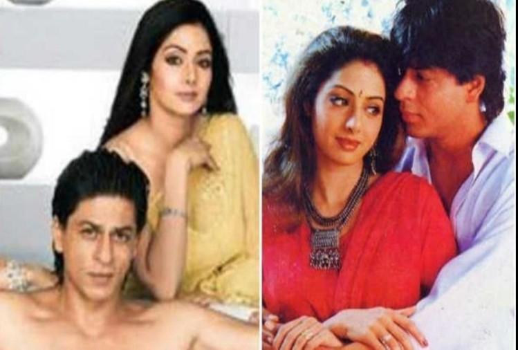 Sridevi rejected these 2 blockbuster movies of Shahrukh Khan