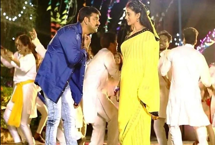 Bhojpuri Actor Pawan Singh Fought With Akshara Singh In