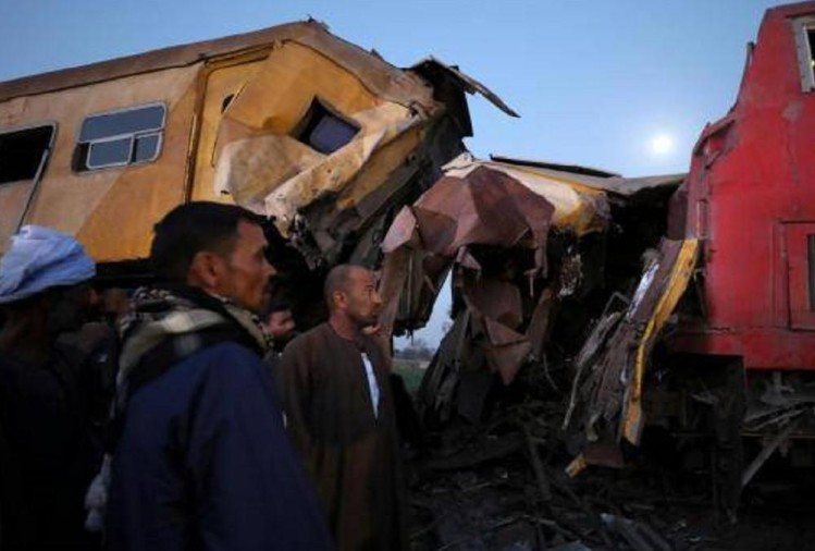 Train Accident in Egypt, 15 dead, 40 wounded