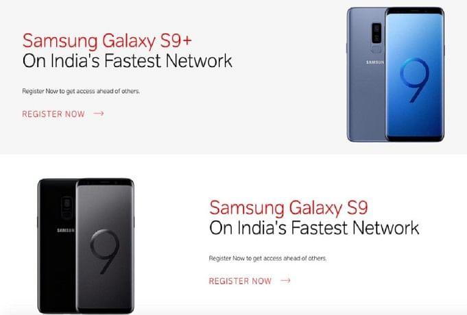 Samsung Galaxy S9, S9+ Airtel Online Store