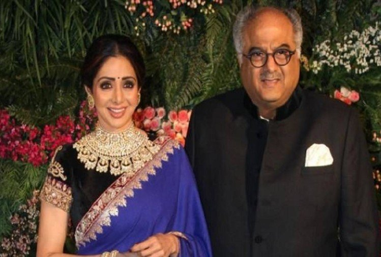Film critic Komal Nahta claims, Boney told that the last time story of Sridevi