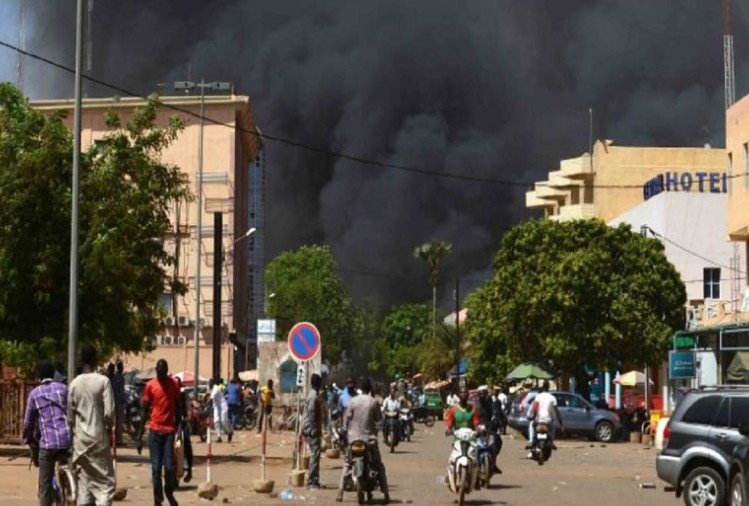 Suicide bombers attacked on French Embassy and military headquarters in Burkina Faso