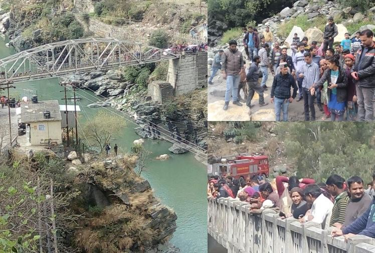 Two girl student commits suicide by jumping in satluj river near Rampur Himachal