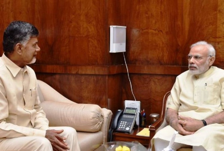 Andhra Pradesh: PM Modi speaks to CM Chandrababu Naidu