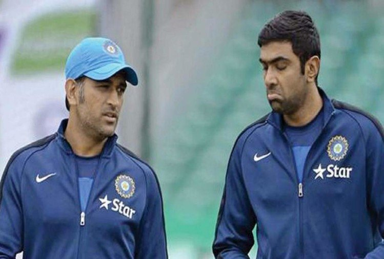 Dhoni and Ashwin