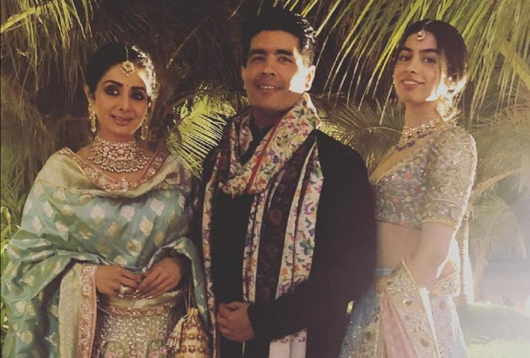 Fashion Designer Manish Malhotra To Gift Sridevi Favourite Dresses To Janhvi and Khushi Kapoor