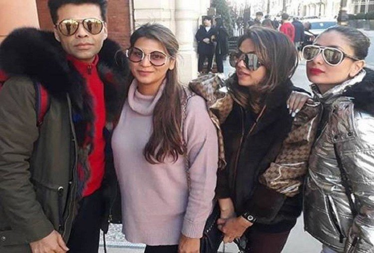 karan johar and kareena kapoor khan photos viral on social media from london
