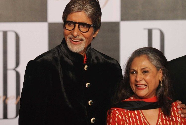 BIG B AND JAYA BACHCHAN