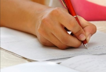 case filed against a child who caught cheating exams and who torn his answer sheet