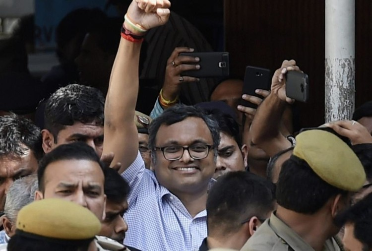 Aircel-Maxis case: ED file charge sheet against Karti Chidambaram