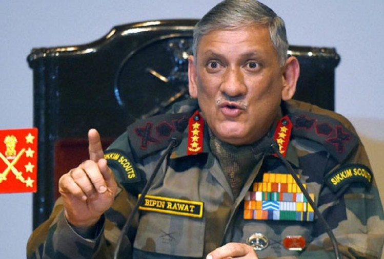 Army chief bipin rawat statement on china us india economy and defence expenditure