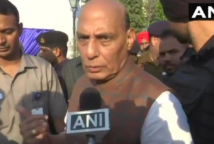 Home minister Rajnath Singh statement over statue politics