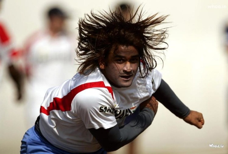 ms dhoni told Sanjay Manjrekar he would continue till he is beating the teams fastest sprinter
