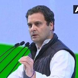 कांग्रेस महाअधिवेशन: राहुल गांधी बोले- कौरवों की तरह भाजपा सत्ता के मद में चूर