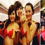 Airhostes looks in Bikini in vietjet airline now coming to india