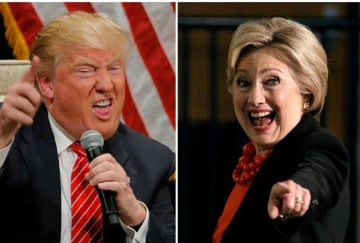 Donald Trump counter attack on Hillary Clinton's remarks in India