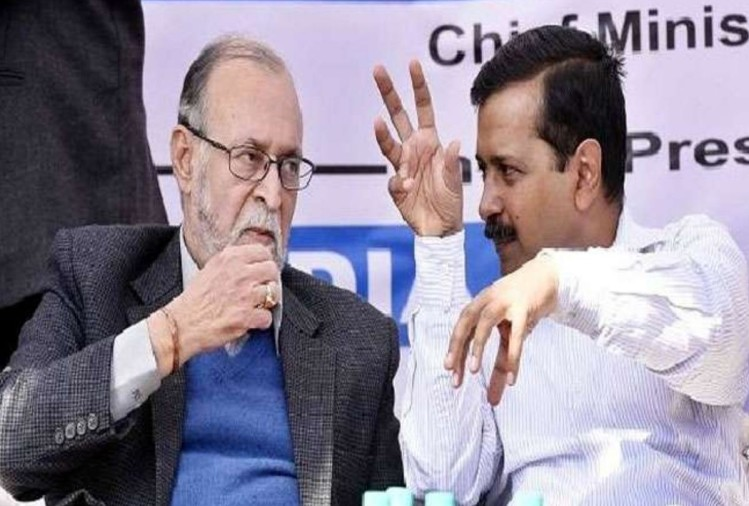 kejriwal and baijal