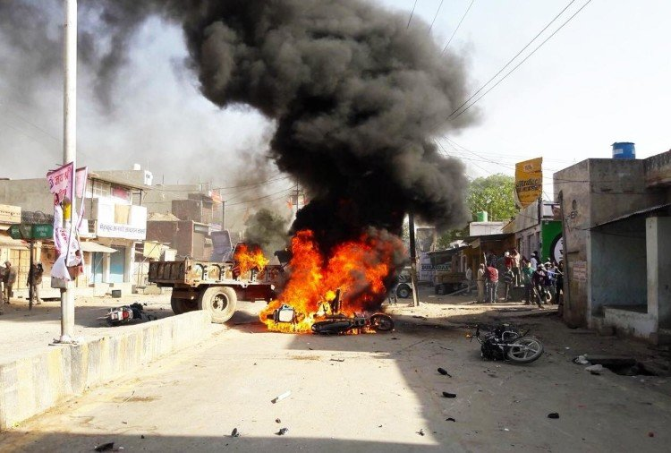 Rajasthan: Riot erupted during Hanuman Jayanti celebrations in Jaitaran town of Pali district
