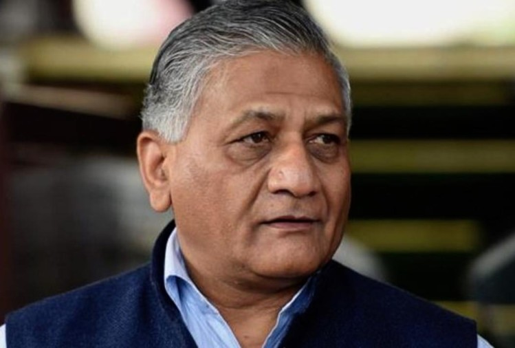 vk singh said Gajanand of Jaipur locked in Pakistan jail can be released on August 13