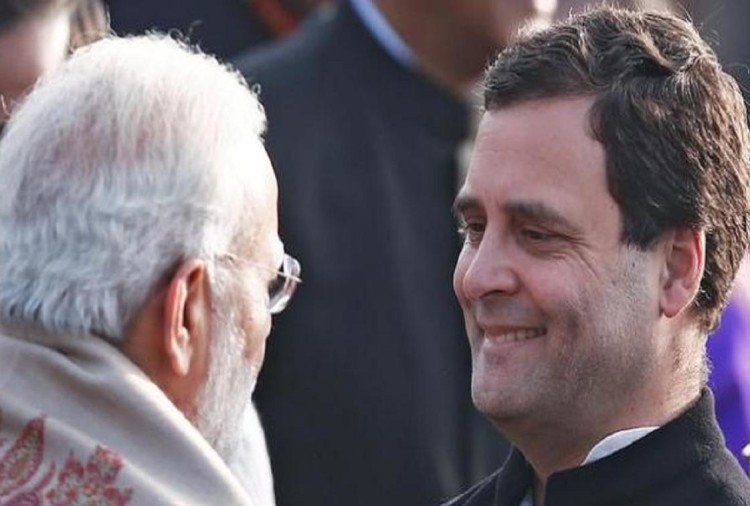 Rahul Gandhi slams Modi to bow down under foreign forces