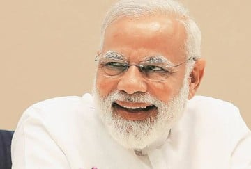 starting a small beauty parlour in village is also employment said prime minister narendra modi