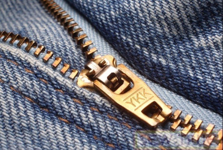 you know about the meaning of YKK print on jeans zip
