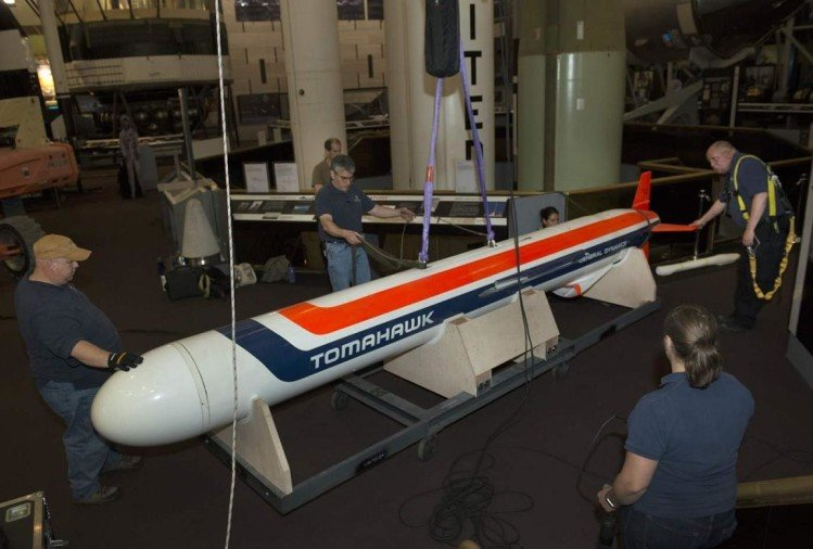 American Tomahawk Cruise Missile destruct Syria