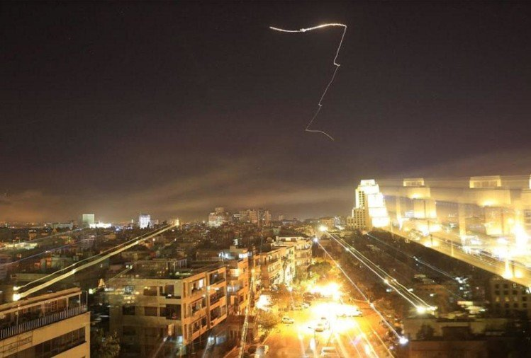 american missiles hits syria: timeline event