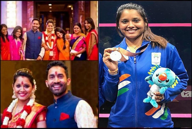 Dipika Pallikal Karthik wife of Dinesh Karthik wins two silver medals for Indian in CWG 2018