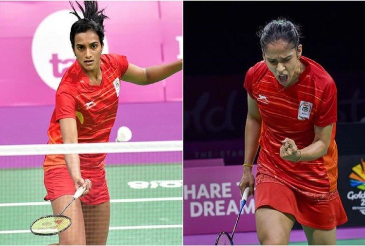 Saina nehwal and PV sindhu enters in quarter finals of badminton single double team faces defeat