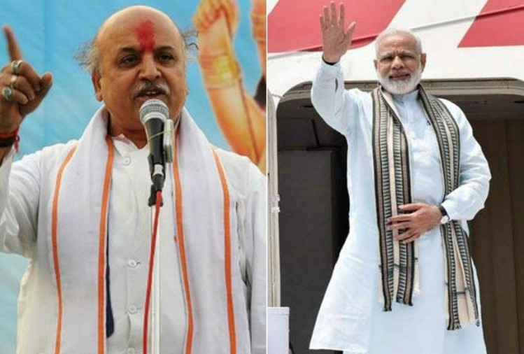 Togadia slams pm modi over foriegn visit of uk and sweden