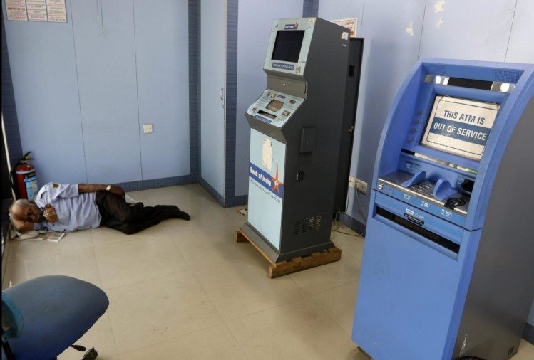 Cash is not available in Many ATMs seen out of service in Bihar, madhya pradesh and west bengal