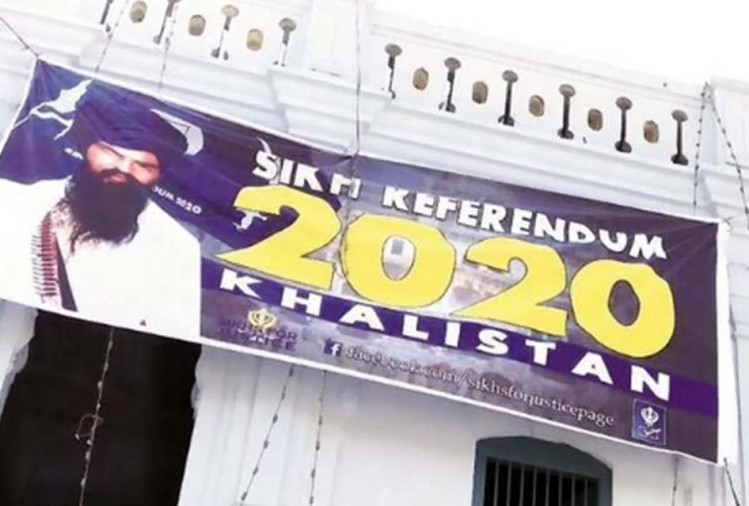 Posters of Sikh referendum gurdwaras in Pakistan visited by Indian pilgrims angered India