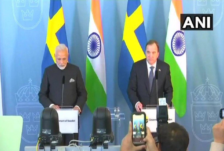 PM Modi: Sweden has been a strong contributor to our 'Make in India' program