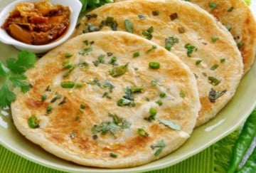 lockdown recipe easy recipe of mint paneer paratha