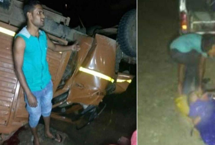 मध्य प्रदेश: बारातियों को लेकर जा रहा ट्रक सोन नदी में गिरा, 21 की मौत
