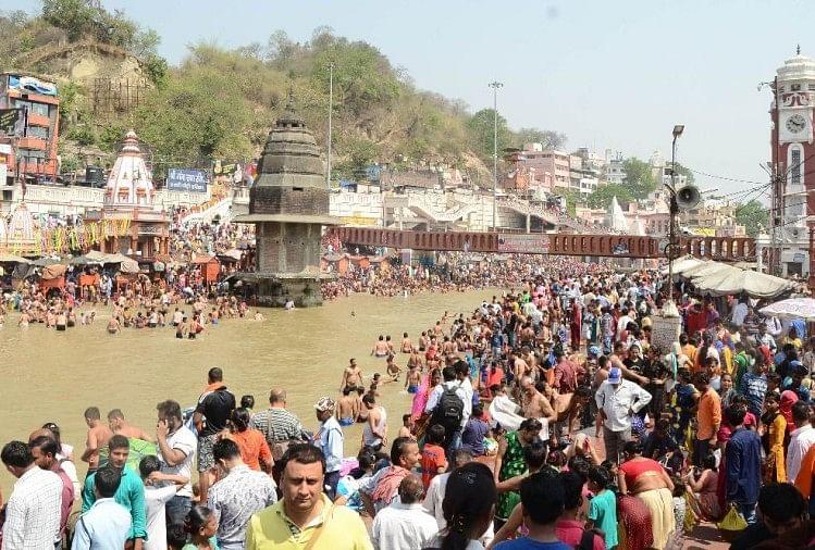 Ganga snan+boat parikrama Prabhus Ganga Snan - YouTube