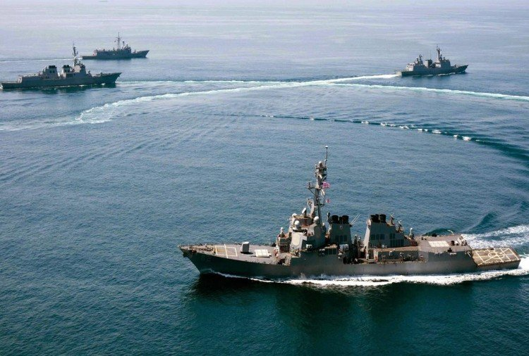 South China Sea: Beijing has claimed that US Navy warships have been dispersed
