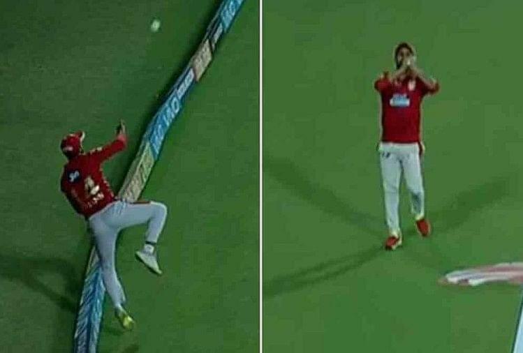 Image result for 6 फुट 2 इंच के गेल ने डाइव लगाकर लिया कैच