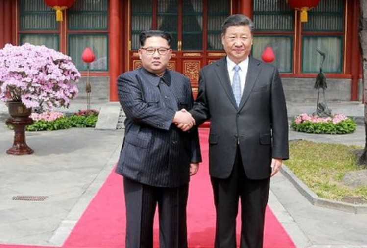 Chinese President Xi Jinping & North Korea's Kim Jong Un met in China's Dalian