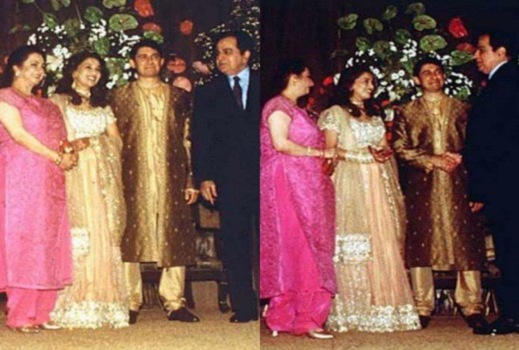 madhuri dixit with Shraddha & Sudip Sahir at the wedding ...